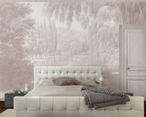 Swan lake 2 - Wallpaper mural