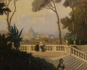 View from Rome - Wallpaper mural