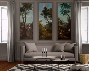 Landscape decorative panel #4- Wallpaper