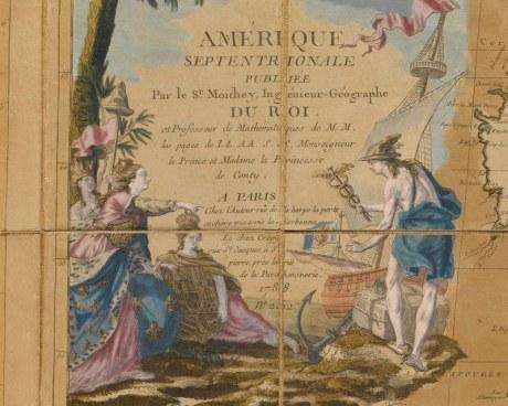 America 1788 - Wallpaper mural