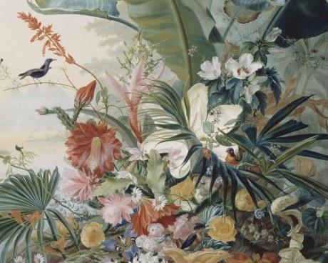 Exotic flowers - wallpaper