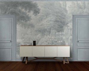Swan lake - Wallpaper mural