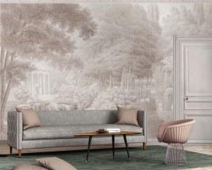 Swan lake - Wallpaper mural
