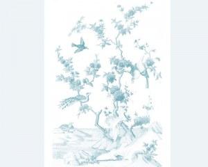Chinese Birds - Wallpaper mural