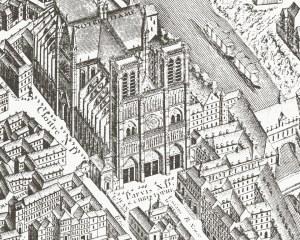 Paris 1739 - Wallpaper mural