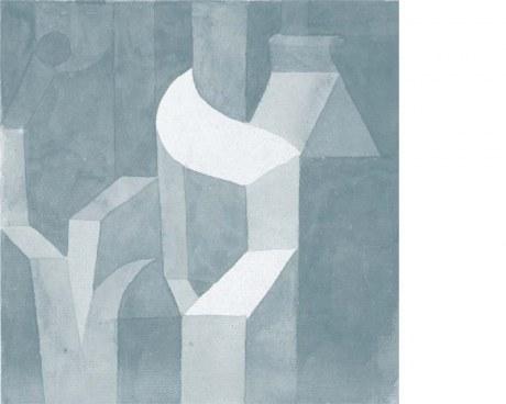 Abstract - Paul Klee - Wallpaper mural