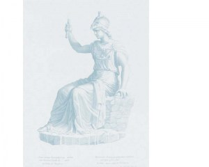 Antique statue - Wallpaper mural