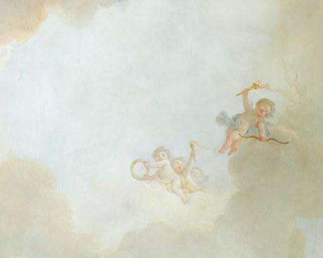Sky&Cherubs - Wallpaper mural