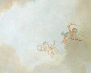 Sky&Cherubs - Wallpaper mural