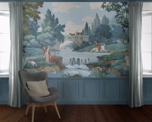 In the countryside - Wallpaper mural