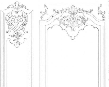 Woodwork - Wallpaper