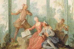 Carta da parati del XVIII secolo