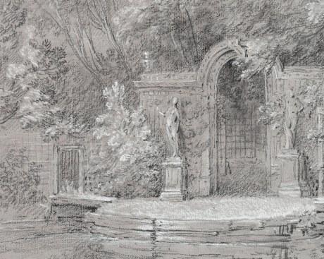 Giardini di Arcueil 1/2 - Carta da Parati