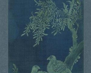 Coreano Pannello N° 8/10 - Fiori Uccelli