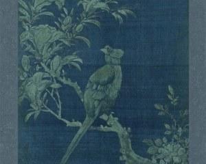 Coreano Pannello N° 1/10 - Fiori Uccelli