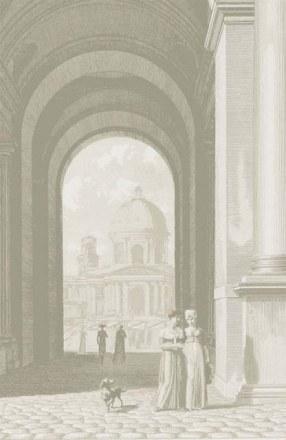 Il Louvre- carta da parati
