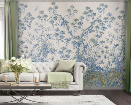 decor cineserie carta da parati murales papiers de paris. Black Bedroom Furniture Sets. Home Design Ideas