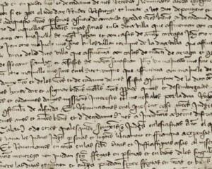Manoscritto del Rinascimento - carta da parati
