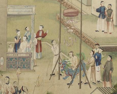 Carta de parati cinese N°4 - Carta de parati