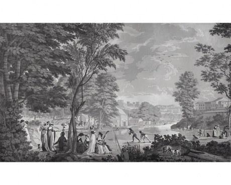 Paesaggi romani - Carta da Parati