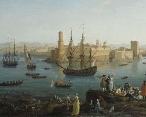 Porto di Marseille - Carta da Parati