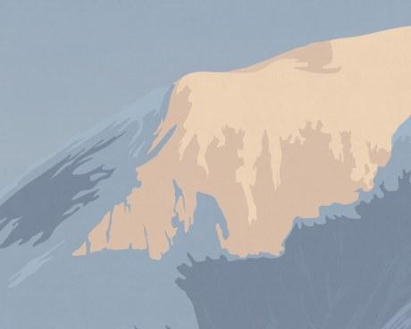 Mont Blanc - carta da parati