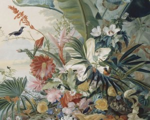 Fiore esotico  - Carta da parati