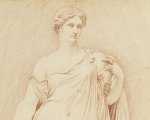 Statua Romana - Carta da parati