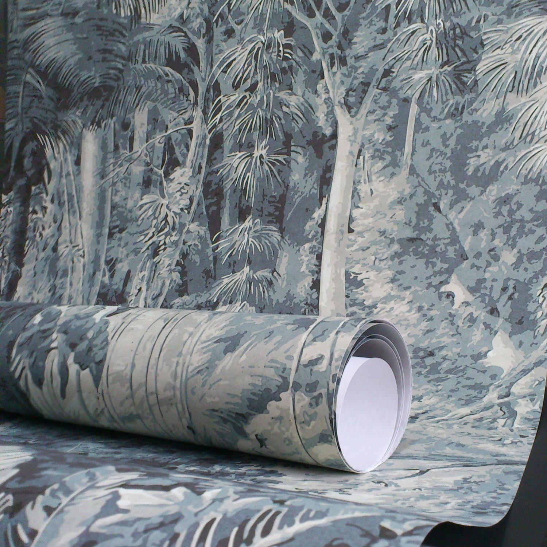 Revêtements muraux décoratifs - Toiles, tissus, papiers peints ...