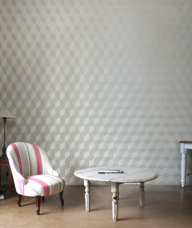 Tapisserie Carreaux De Ciment le papier peint design - papiers de paris