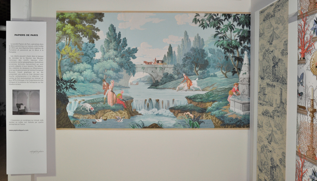 Papier peint au Musée du Papier peint