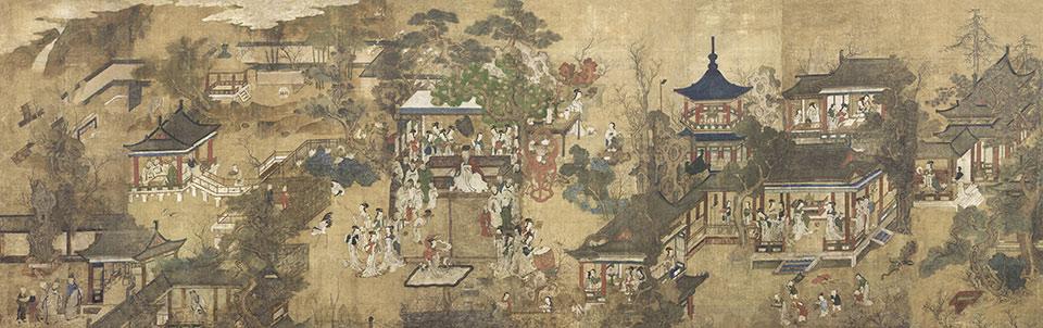 Papier peint chinoiserie - Chine