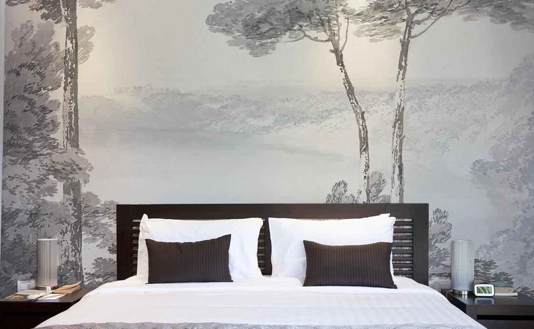 Tete de lit paysage