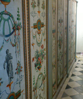 Reproduction De Panneaux Decoratifs Reveillon Papiers De Paris