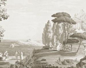 Paysage de Télémaque dans l'ïle de Calypso