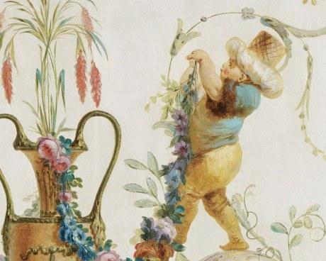 Vases&Genies N°2/6 - Panneau décoratif