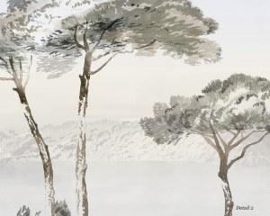 Pins Parasols - Papier peint