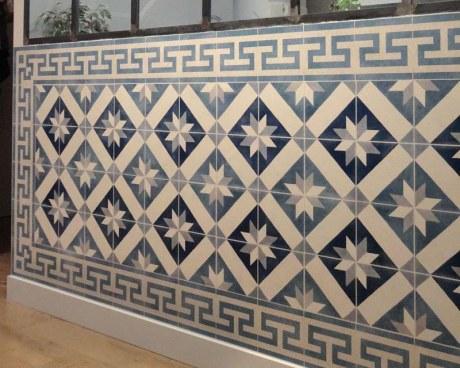 Papier peint panoramique - Carreaux de ciment anciens - Papiers de Paris