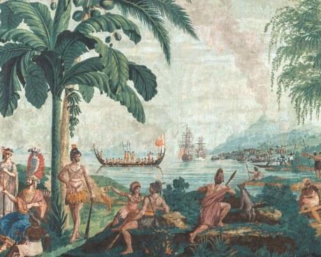 Les Voyages du Capitaine Cook - 1804