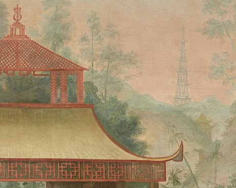 Cabinet Chinois N°2 - Panneau décoratif