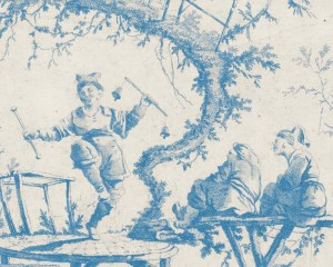 Decor chinois - Papier peint