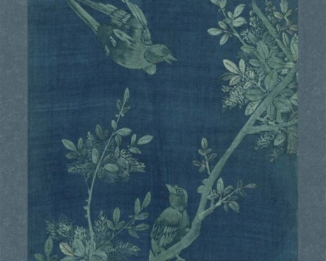 Panneau Coréen N°4/10 - Fleurs&Oiseaux