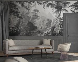 L'Eden - 1861- Papier peint panoramique