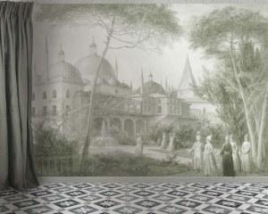 Scene Turque 1/2 - Papier peint