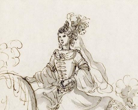 Mascarade - Papier peint
