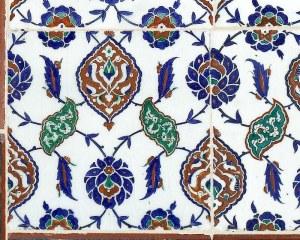 Céramiques Orientales-1- papier peint