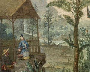 Cabinet Chinois N°3 - Panneau décoratif