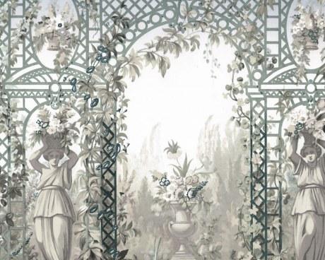 Jardin d'Hiver - Papier peint