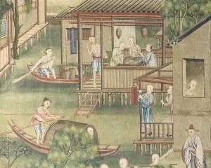Papier peint chinois N°1 - Panneau décoratif