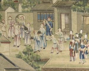 Papier peint chinois N°2 - Panneau décoratif